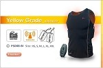 Thermalution Underwater Vest - Yellow Grade Plus with 2 sets  4.4AH Batteries and Rechargeable Wireless Controller