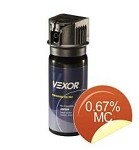 Vexor MK3 Full Axis Pepper Spray(0.33% MC)