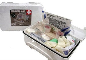 WHITE SERIES- FA114-FIRST AID KIT