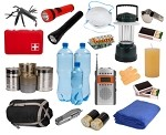 SurvivalReady Deluxe 1 Person Survival Kit - 58+ Items
