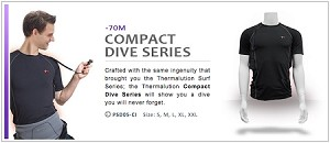 Thermalution Underwater Vest - Compact Dive Series (in CANADIAN dollars)