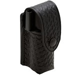 Basketweave Belt Clip Black Snap